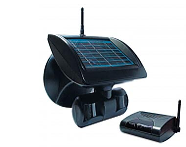 Wireless solar camera and security systems