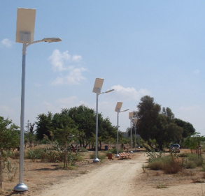 Street and area solar lighting system