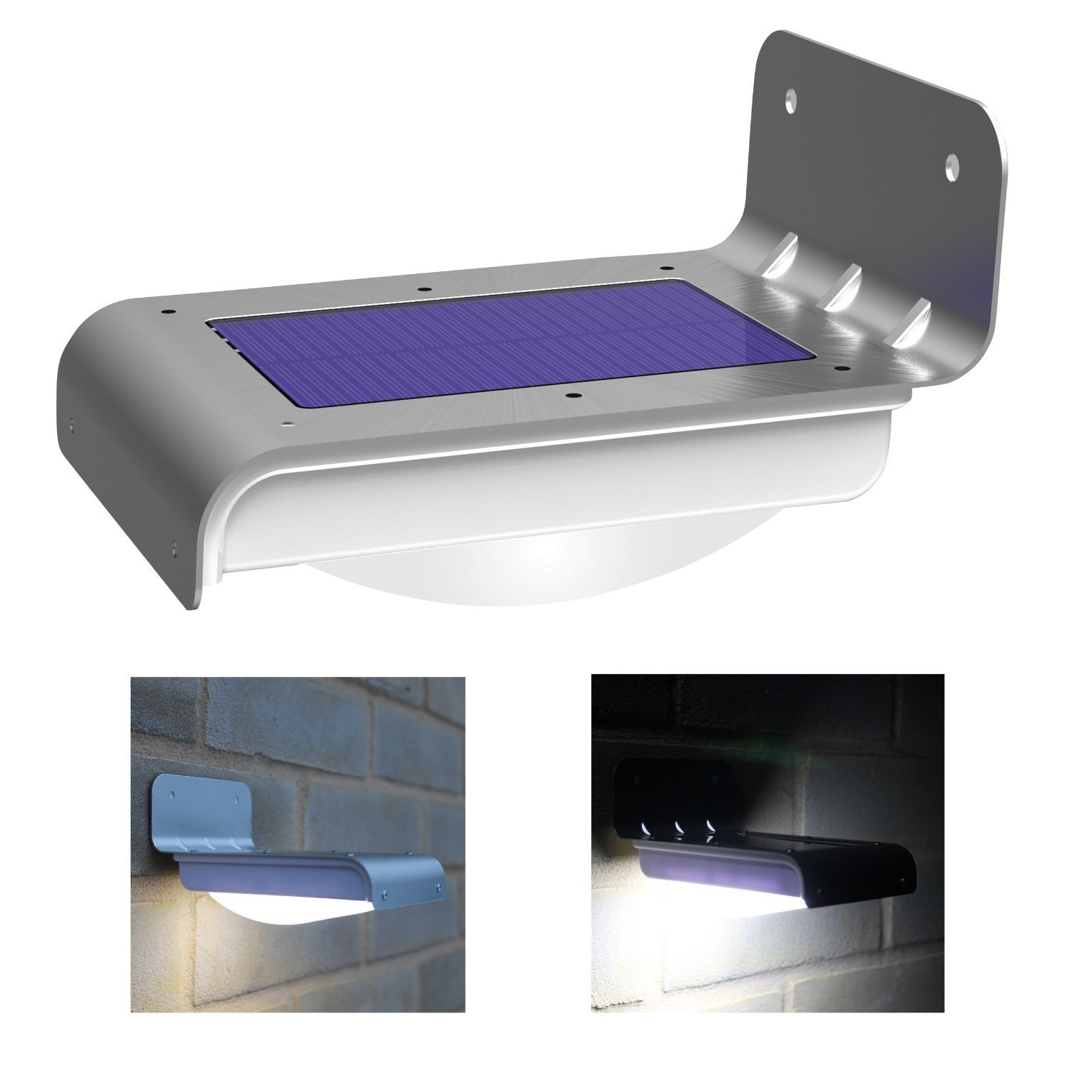 Excluss solar wall security light outdoor lighting thumbnails aloadofball Image collections