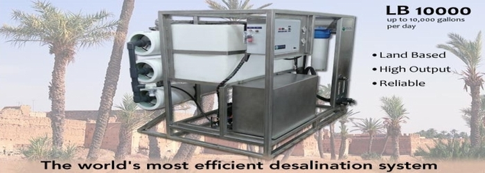Desalination equipment - Spectra high efficiency Landbased